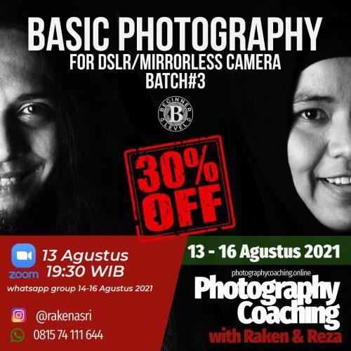 Basic DSLR&Mirrorless Camera #3