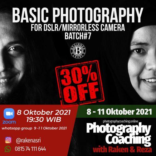 Basic DSLR&Mirrorless Camera #7