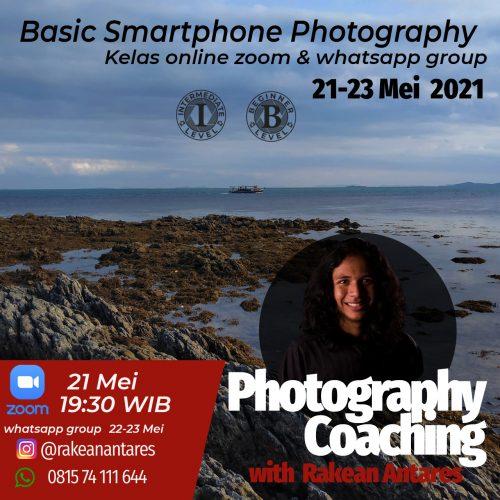 Smartphone photogaraphy With Rakean