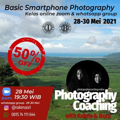 Smartphone photogaraphy with Raken