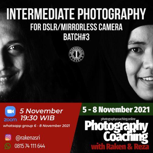 intermediate DSLR&Mirrorless Camera #3