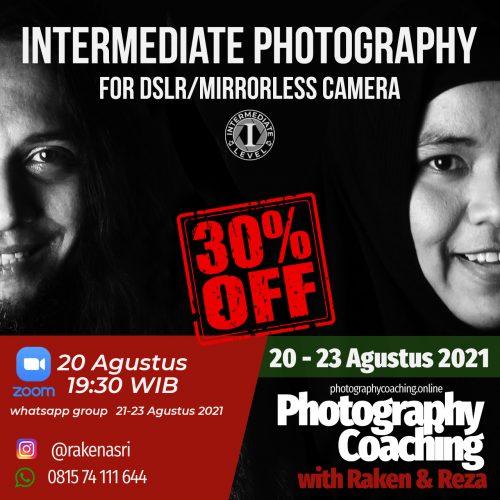 intermediate DSLR&Mirrorless Camera